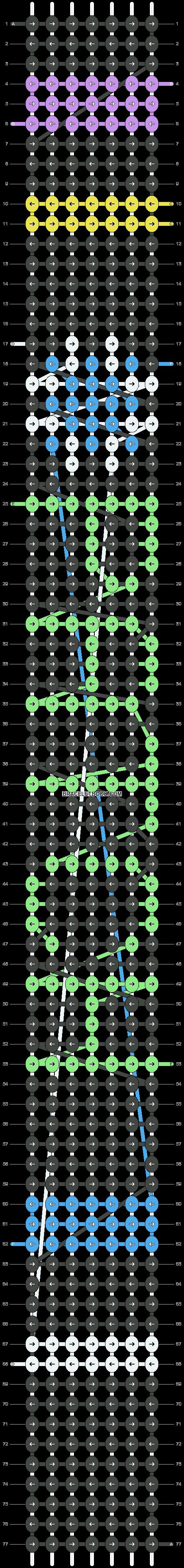 Alpha pattern #18662 pattern