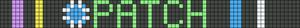 Alpha Friendship Bracelet Pattern #18662