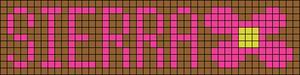 Alpha Friendship Bracelet Pattern #18663