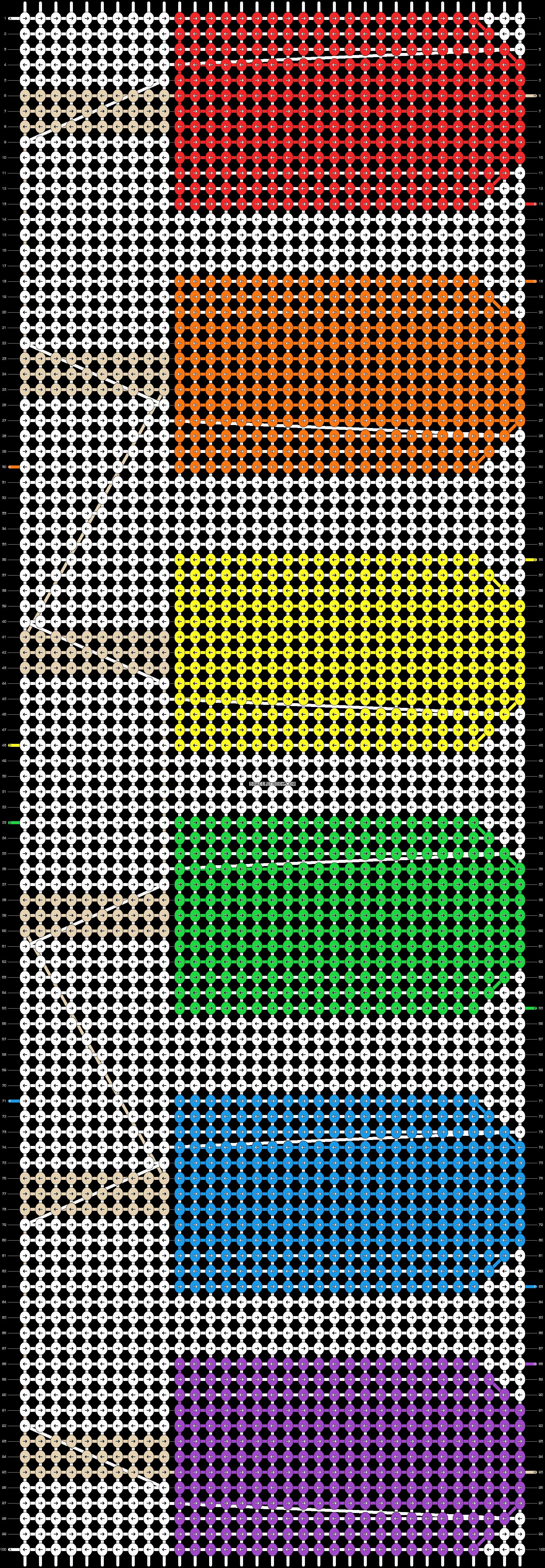 Alpha pattern #18664 pattern