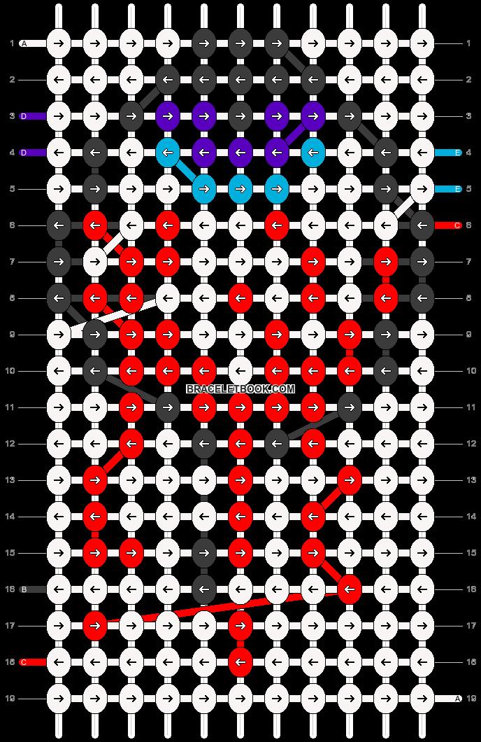 Alpha pattern #18667 pattern