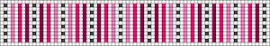 Alpha Friendship Bracelet Pattern #18676