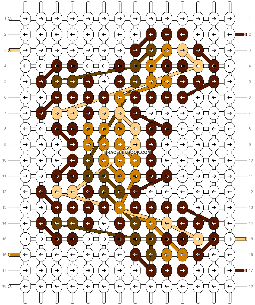 Alpha pattern #18678 pattern