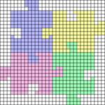 Alpha Friendship Bracelet Pattern #18681