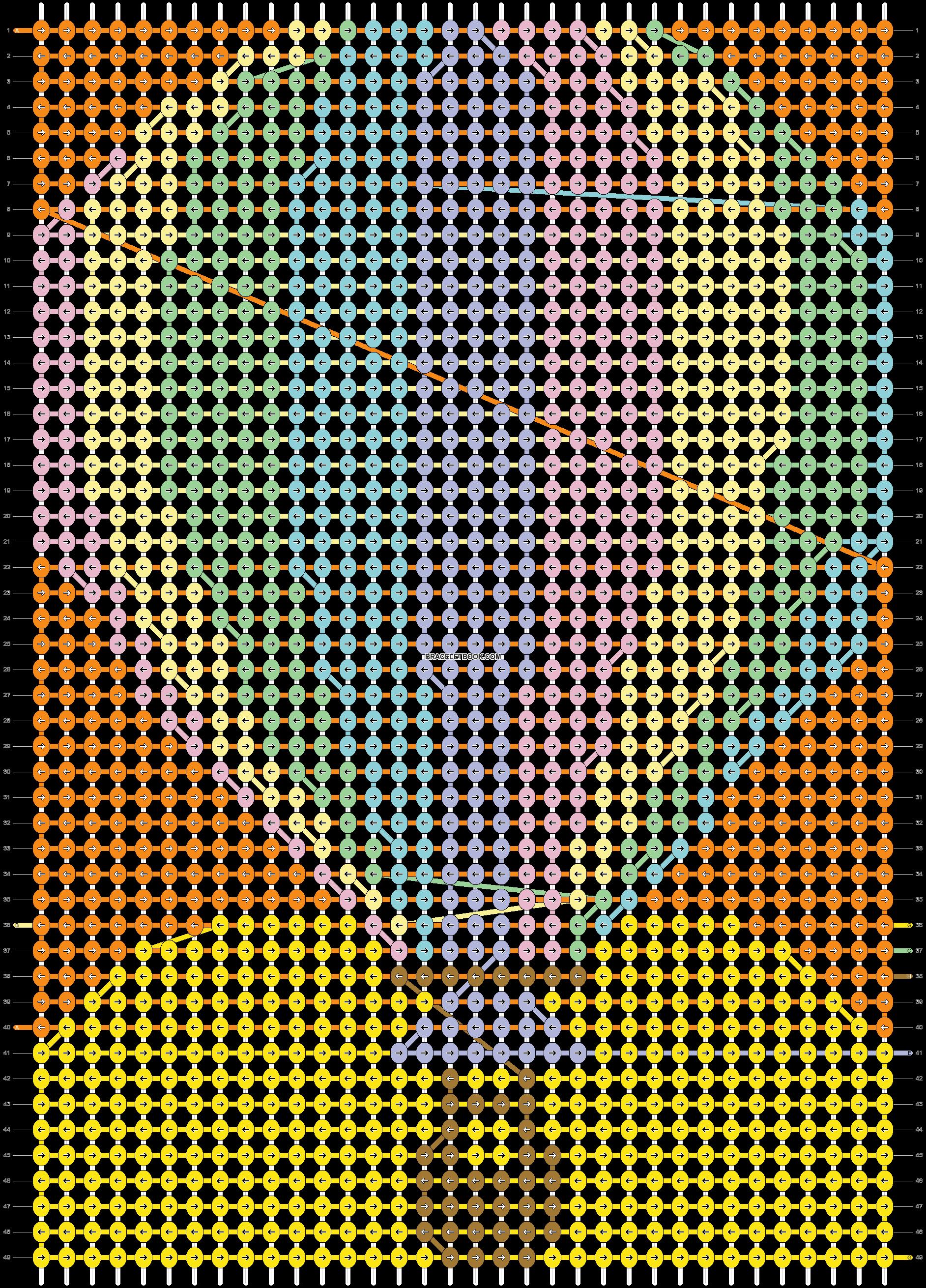 Alpha pattern #18682 pattern