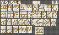 Alpha pattern #18684
