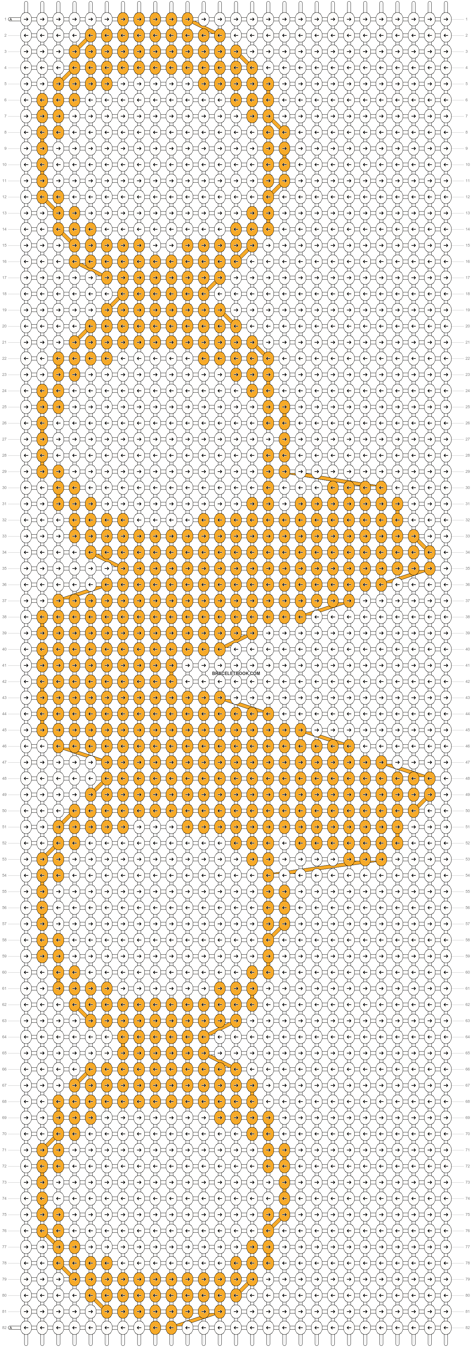 Alpha pattern #18686 pattern