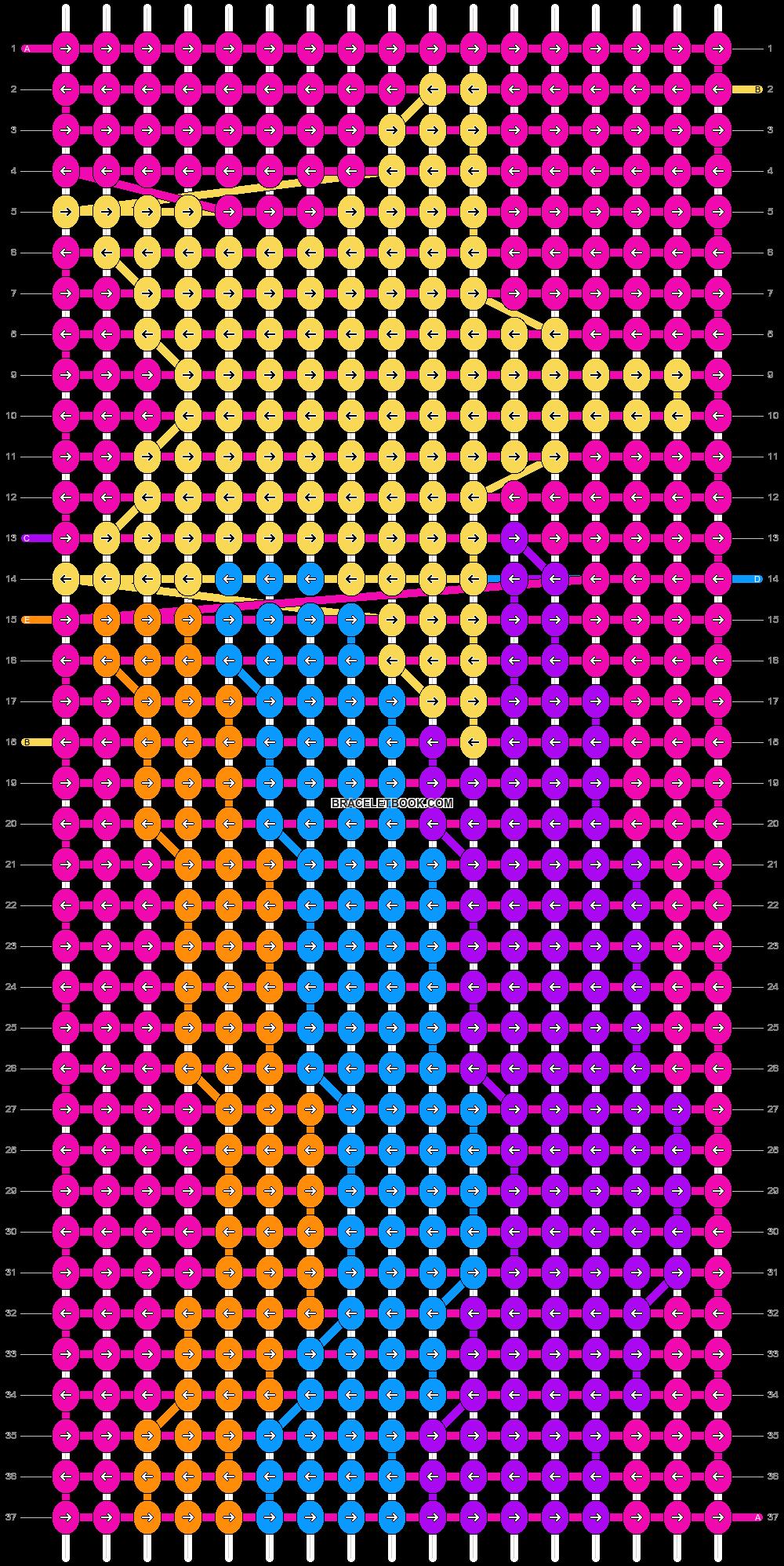 Alpha pattern #18687 pattern