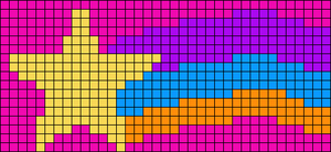 Alpha pattern #18687