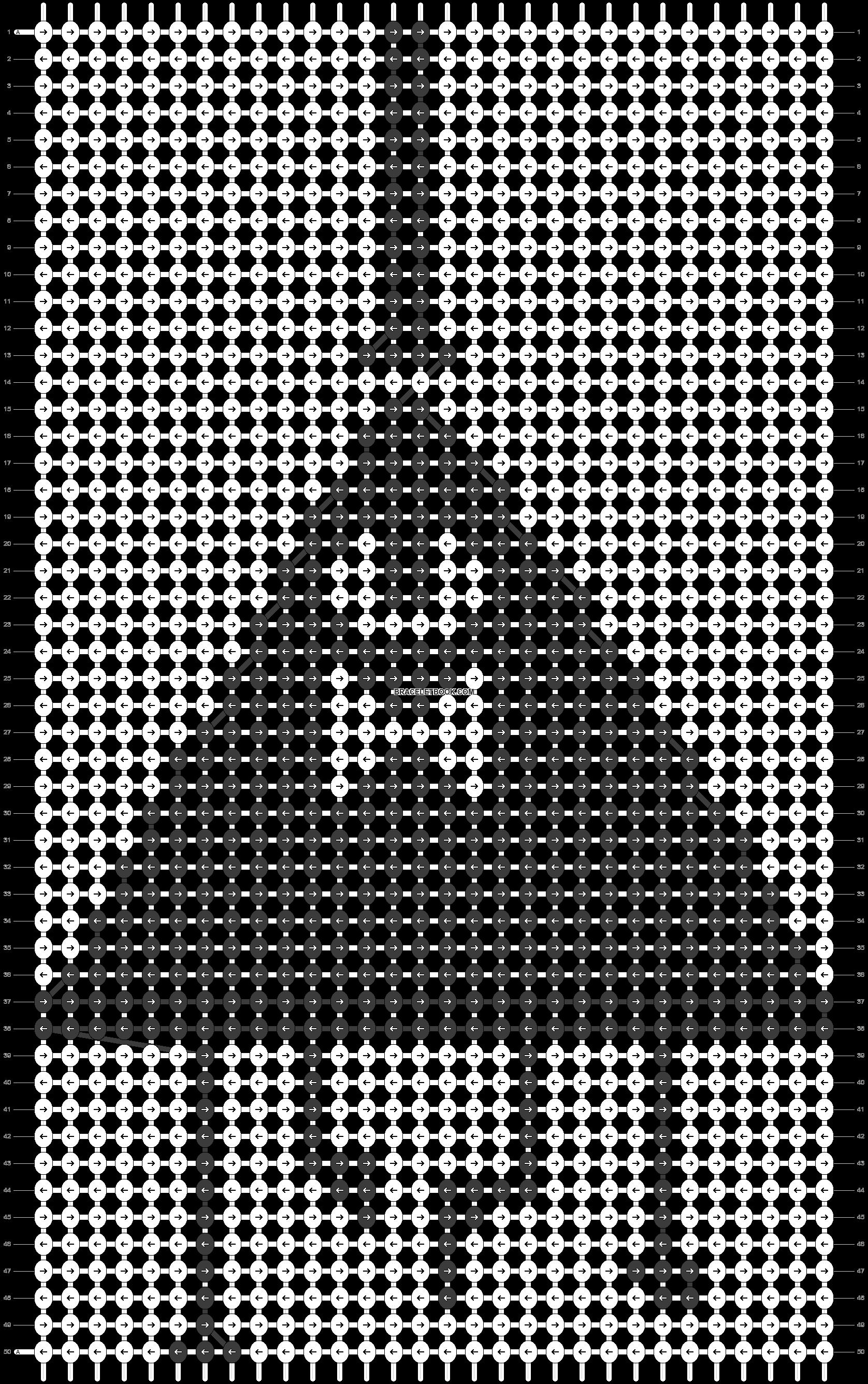 Alpha pattern #18690 pattern