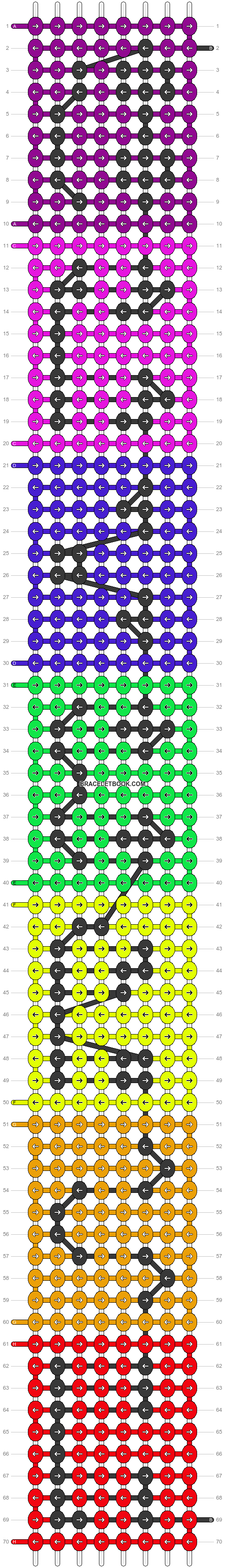 Alpha pattern #18692 pattern
