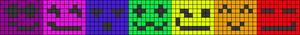 Alpha Friendship Bracelet Pattern #18692
