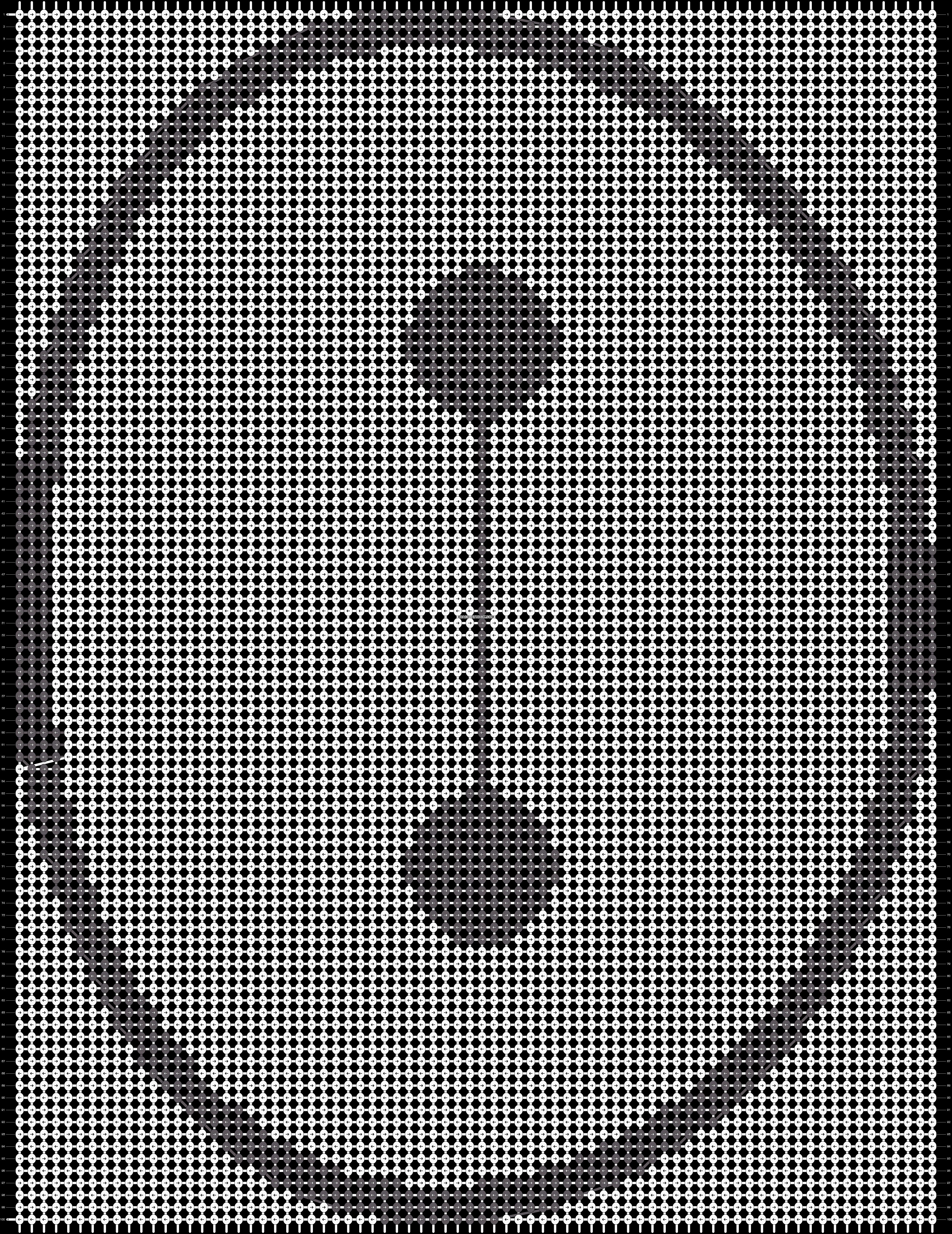 Alpha pattern #18696 pattern