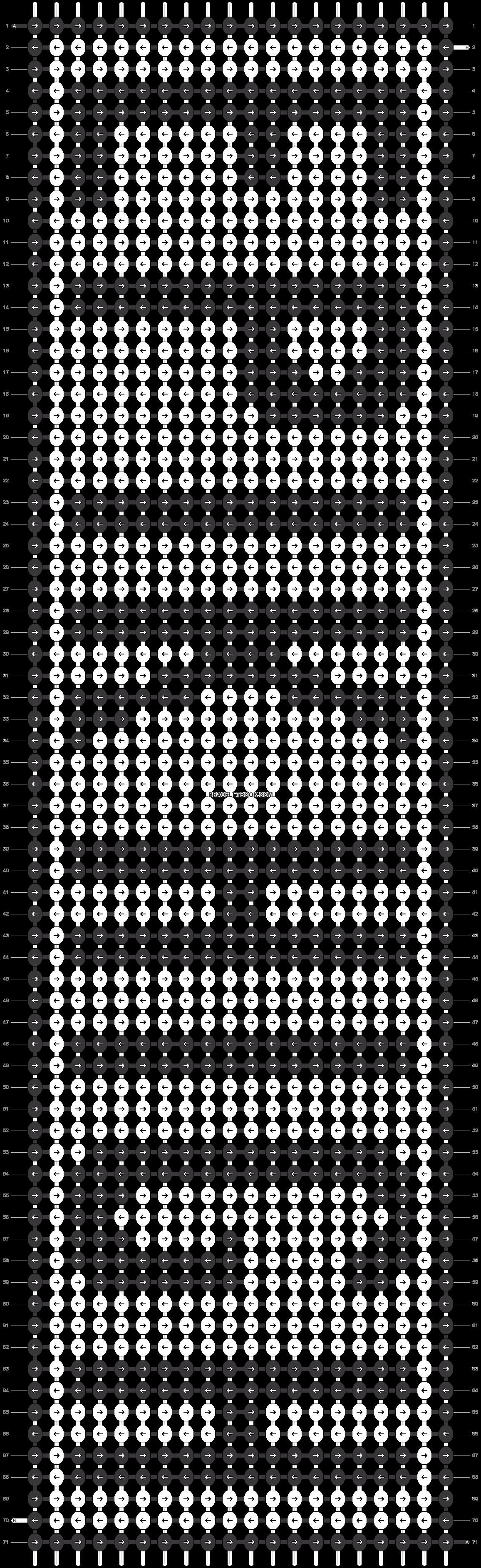 Alpha pattern #18697 pattern