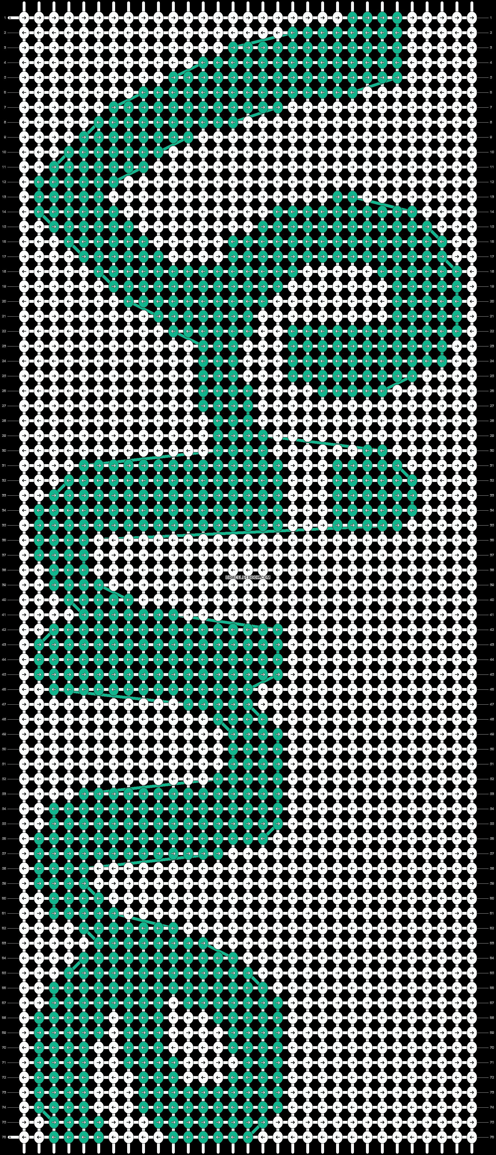 Alpha pattern #18698 pattern