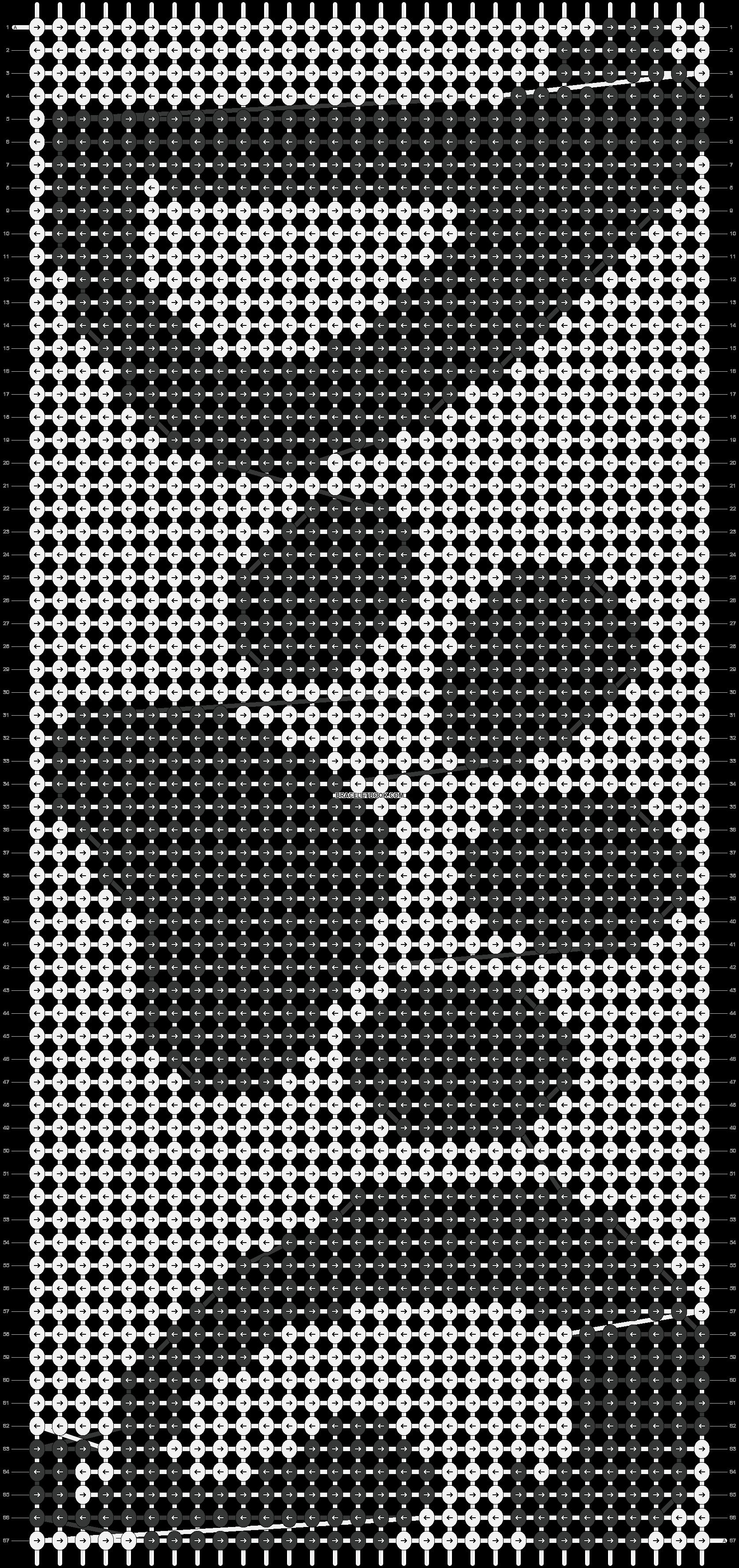 Alpha pattern #18699 pattern
