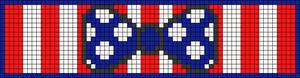 Alpha Friendship Bracelet Pattern #18703