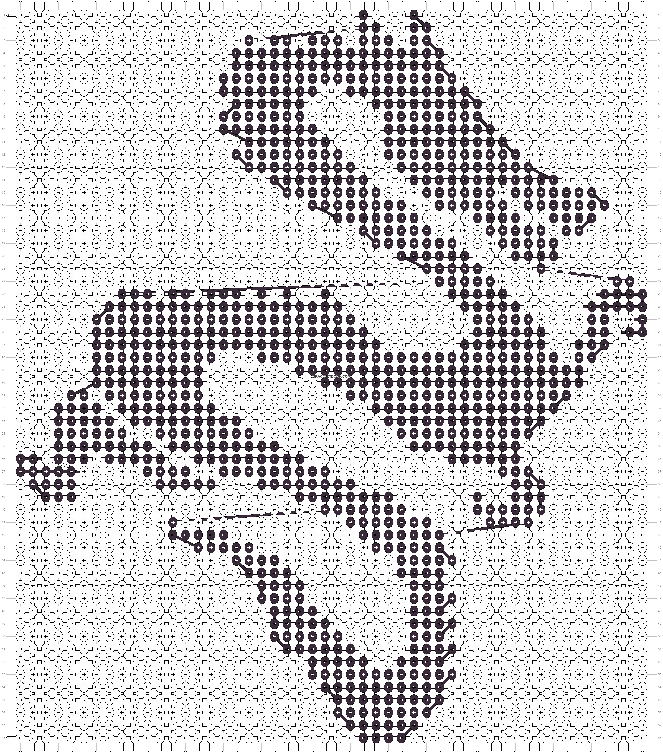 Alpha pattern #18707 pattern