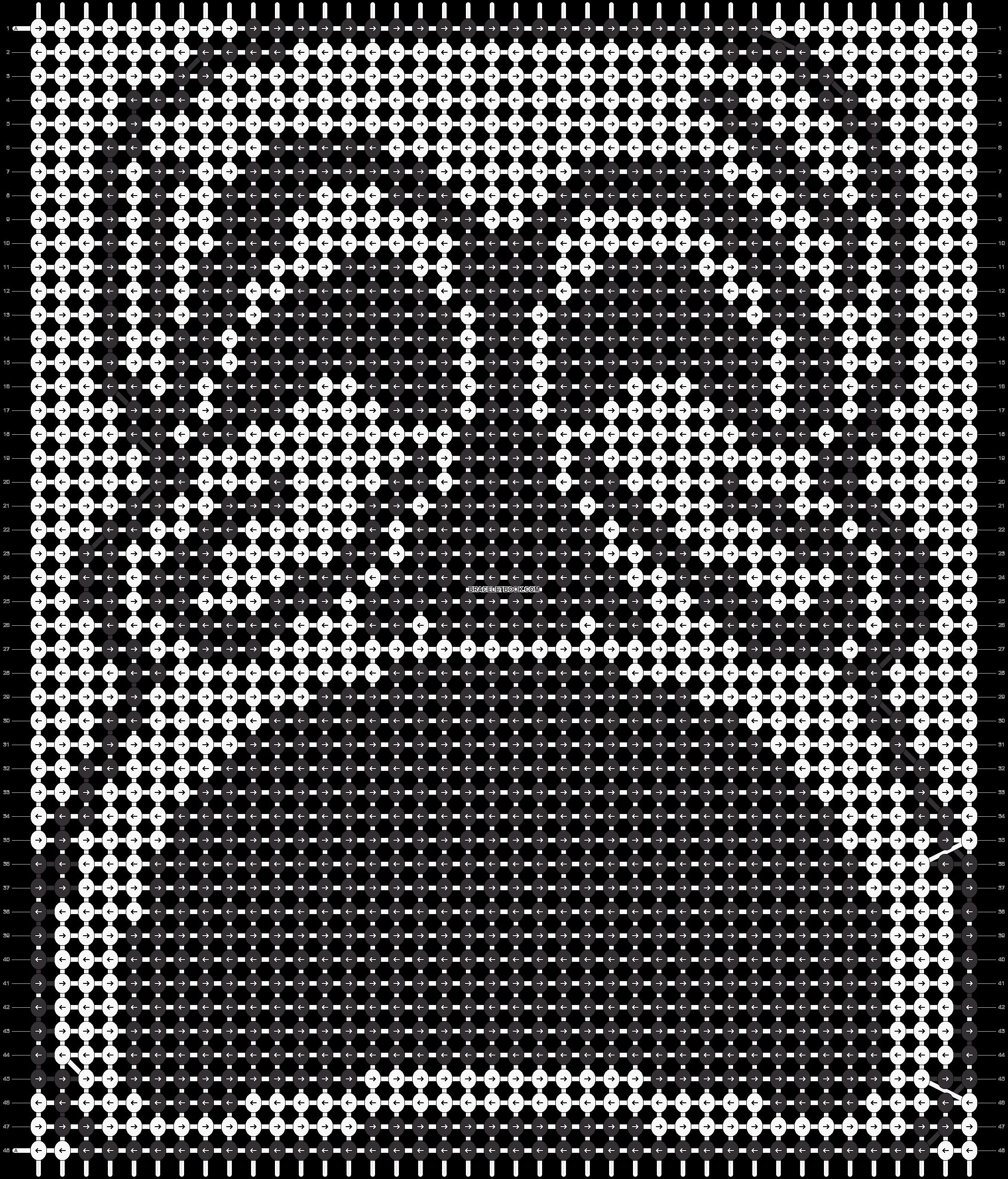 Alpha pattern #18708 pattern