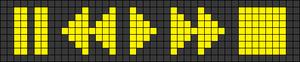 Alpha Friendship Bracelet Pattern #18709
