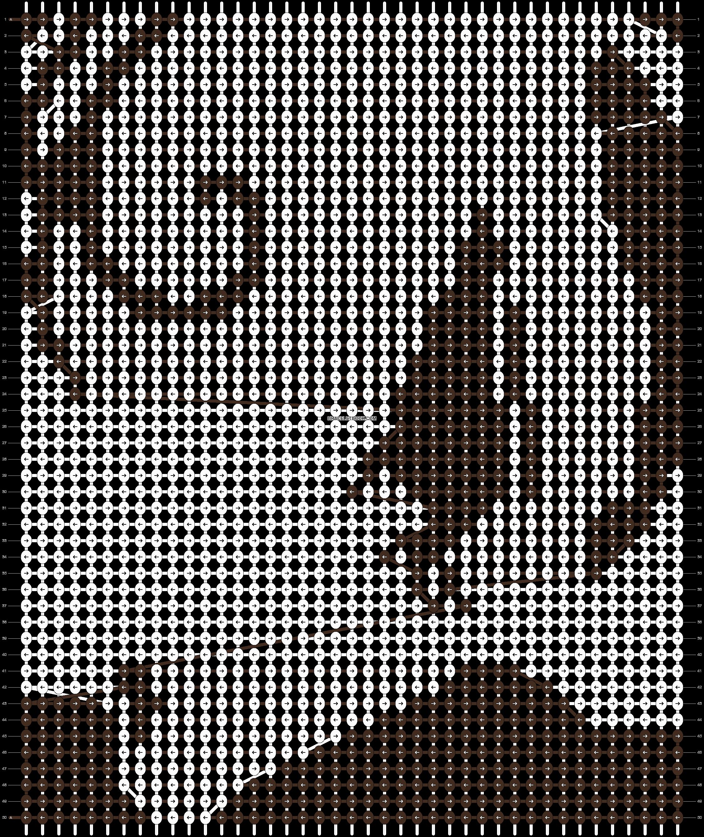 Alpha pattern #18711 pattern