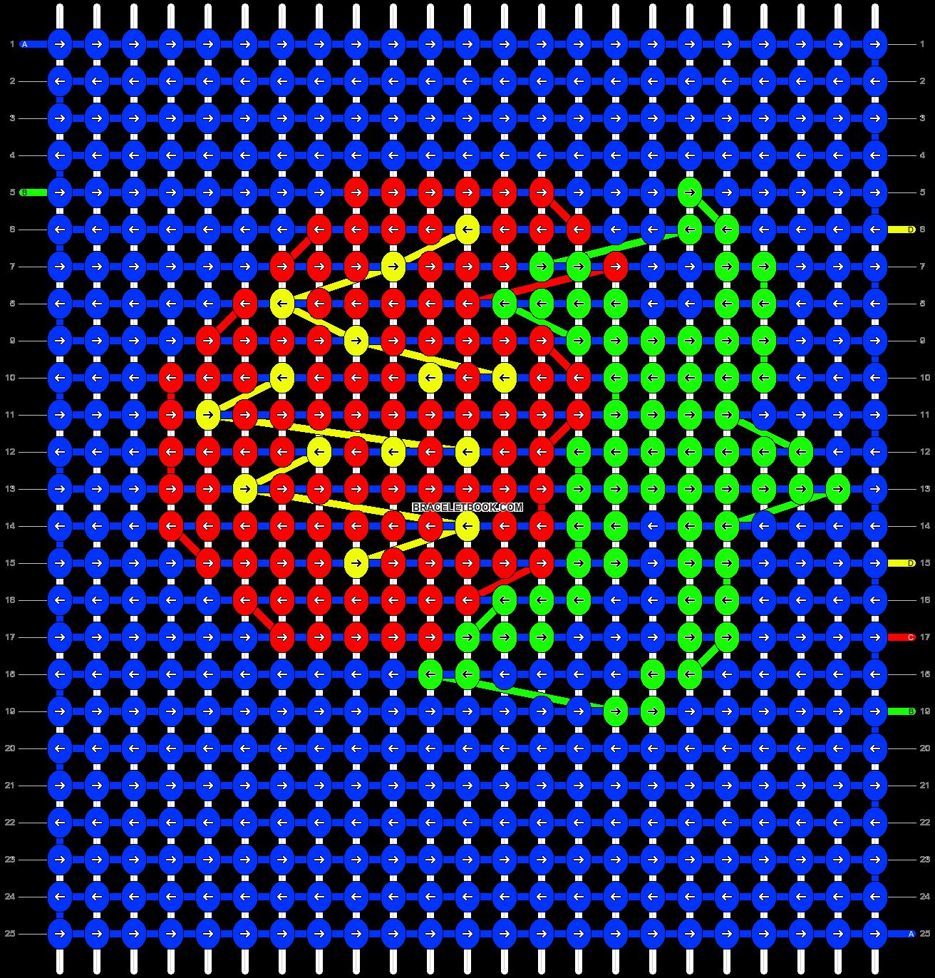 Alpha pattern #18715 pattern