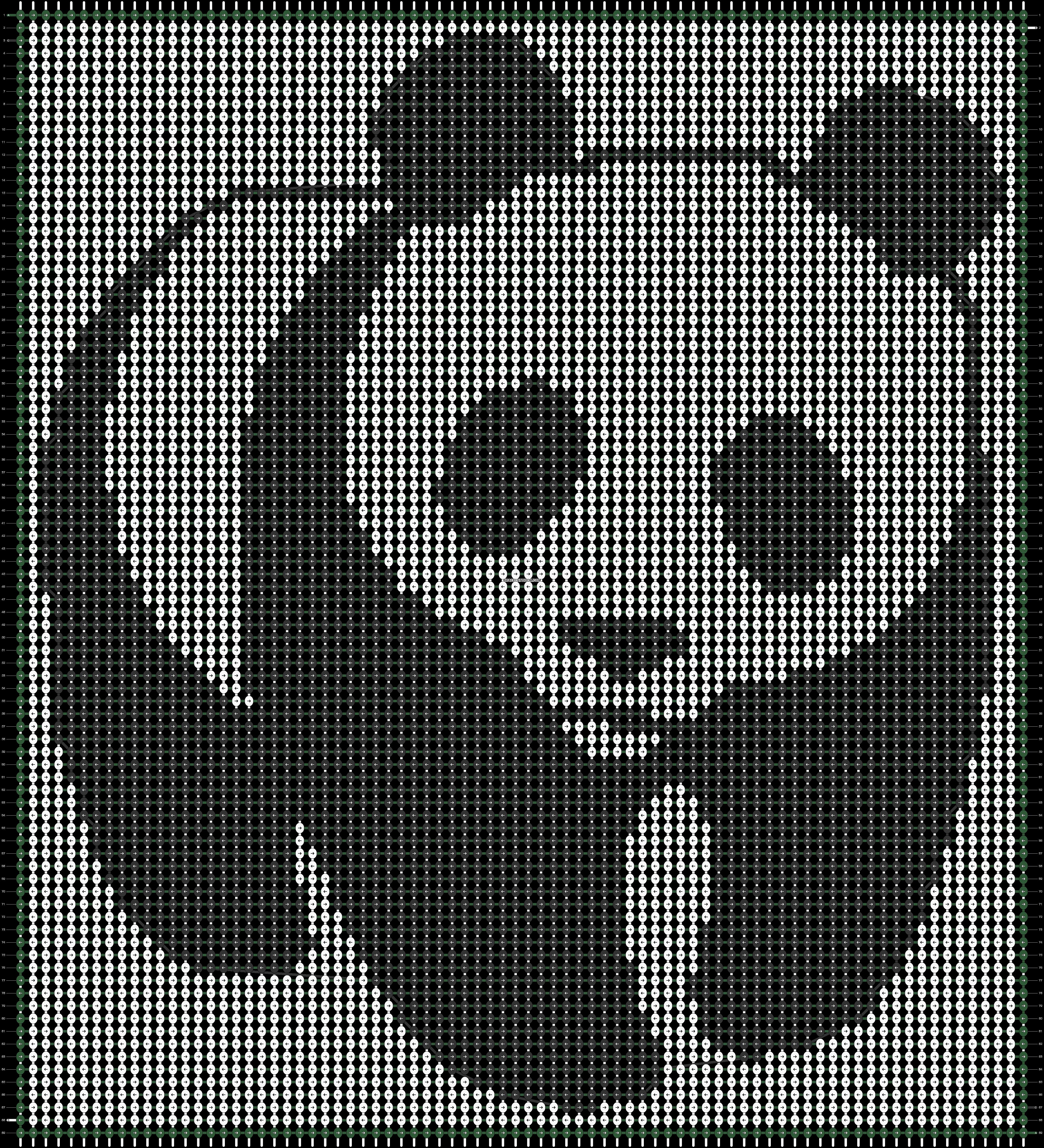 Alpha pattern #18719 pattern
