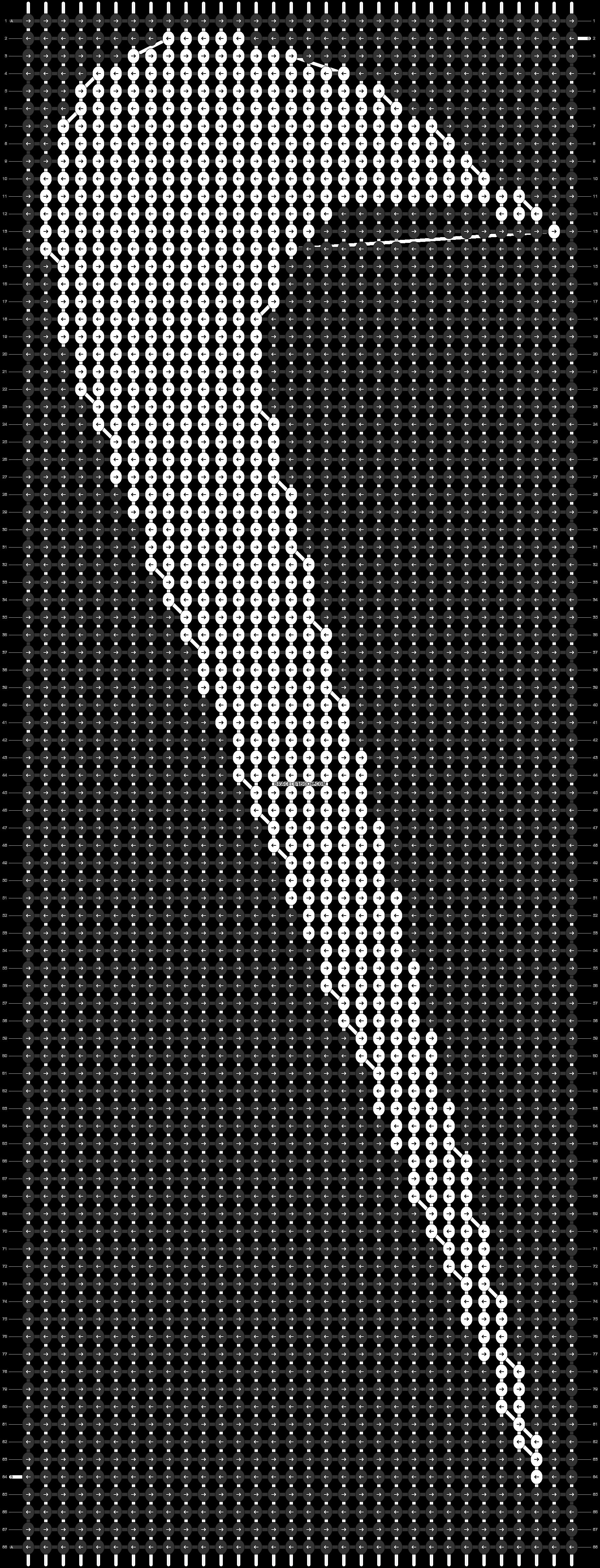 Alpha pattern #18726 pattern