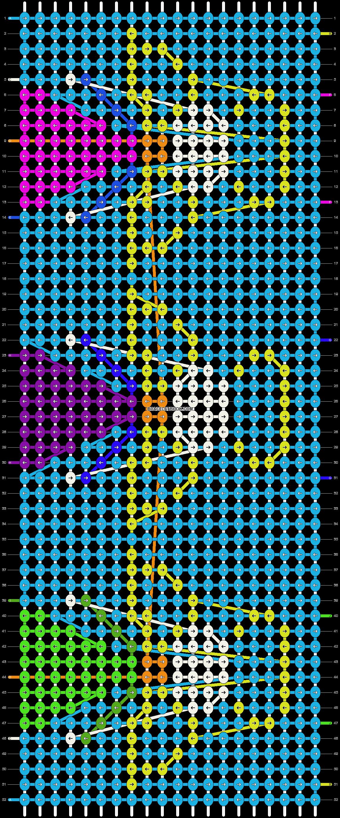 Alpha pattern #18730 pattern