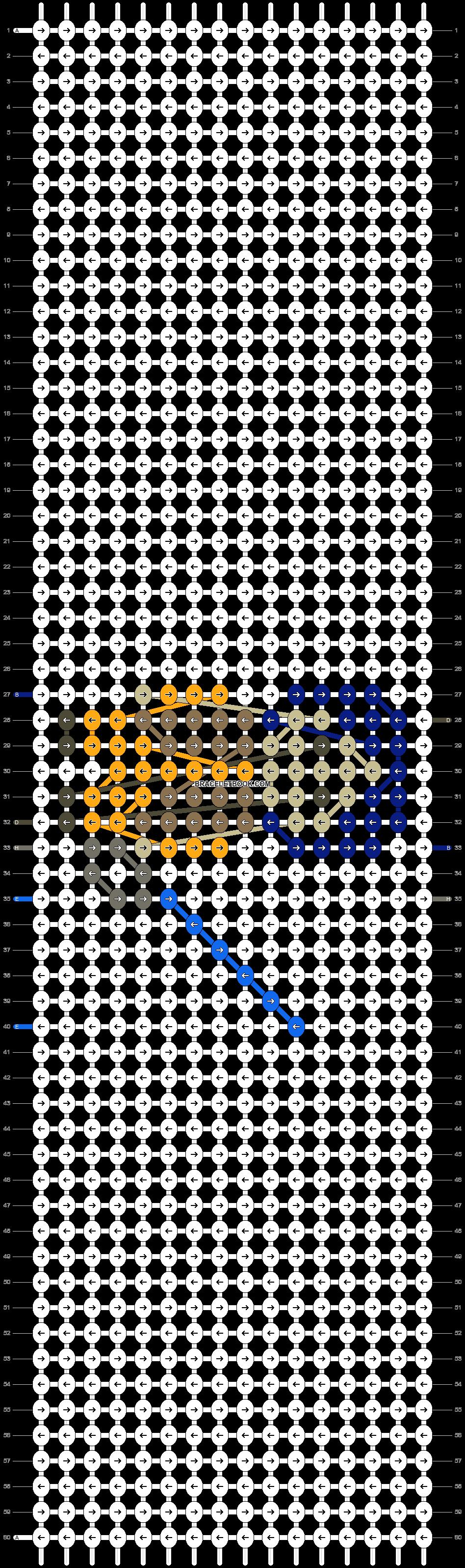 Alpha pattern #18739 pattern
