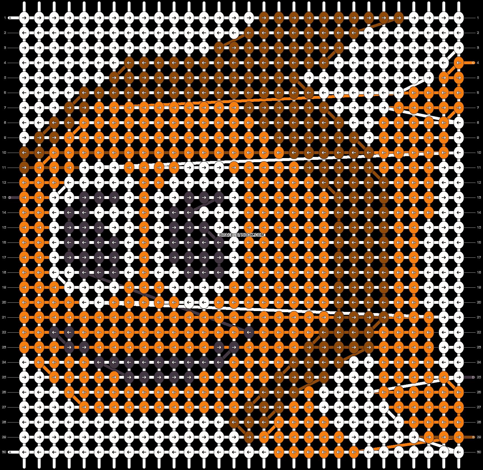 Alpha pattern #18740 pattern