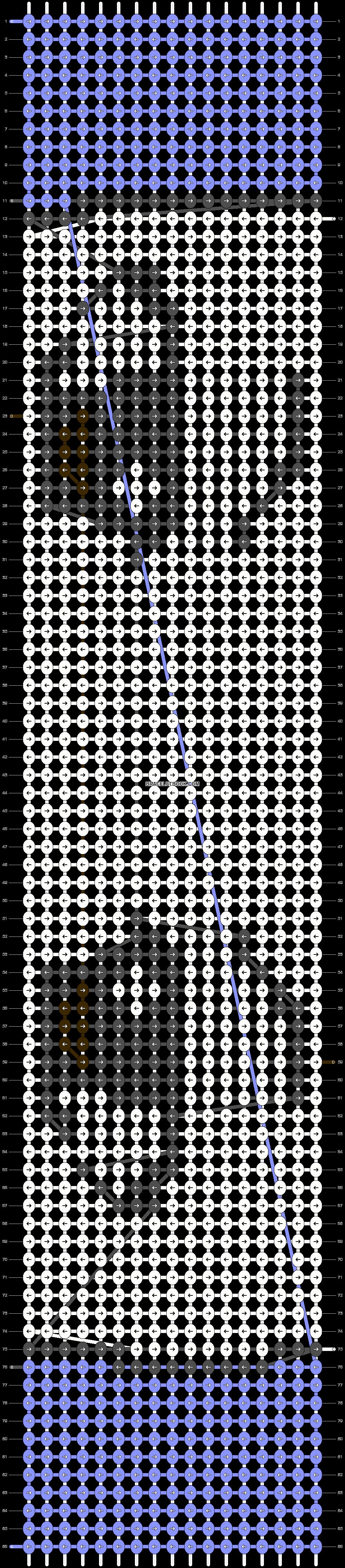 Alpha pattern #18747 pattern