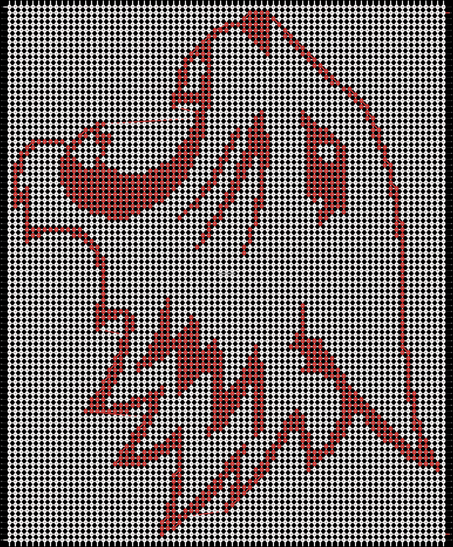 Alpha pattern #18760 pattern