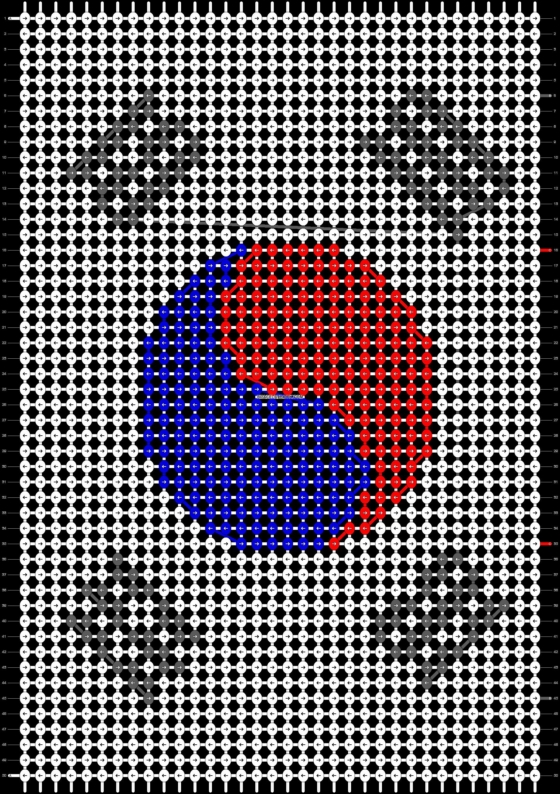 Alpha pattern #18762 pattern