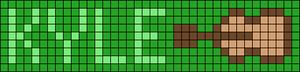 Alpha Friendship Bracelet Pattern #18763