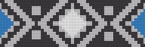 Alpha Friendship Bracelet Pattern #18767