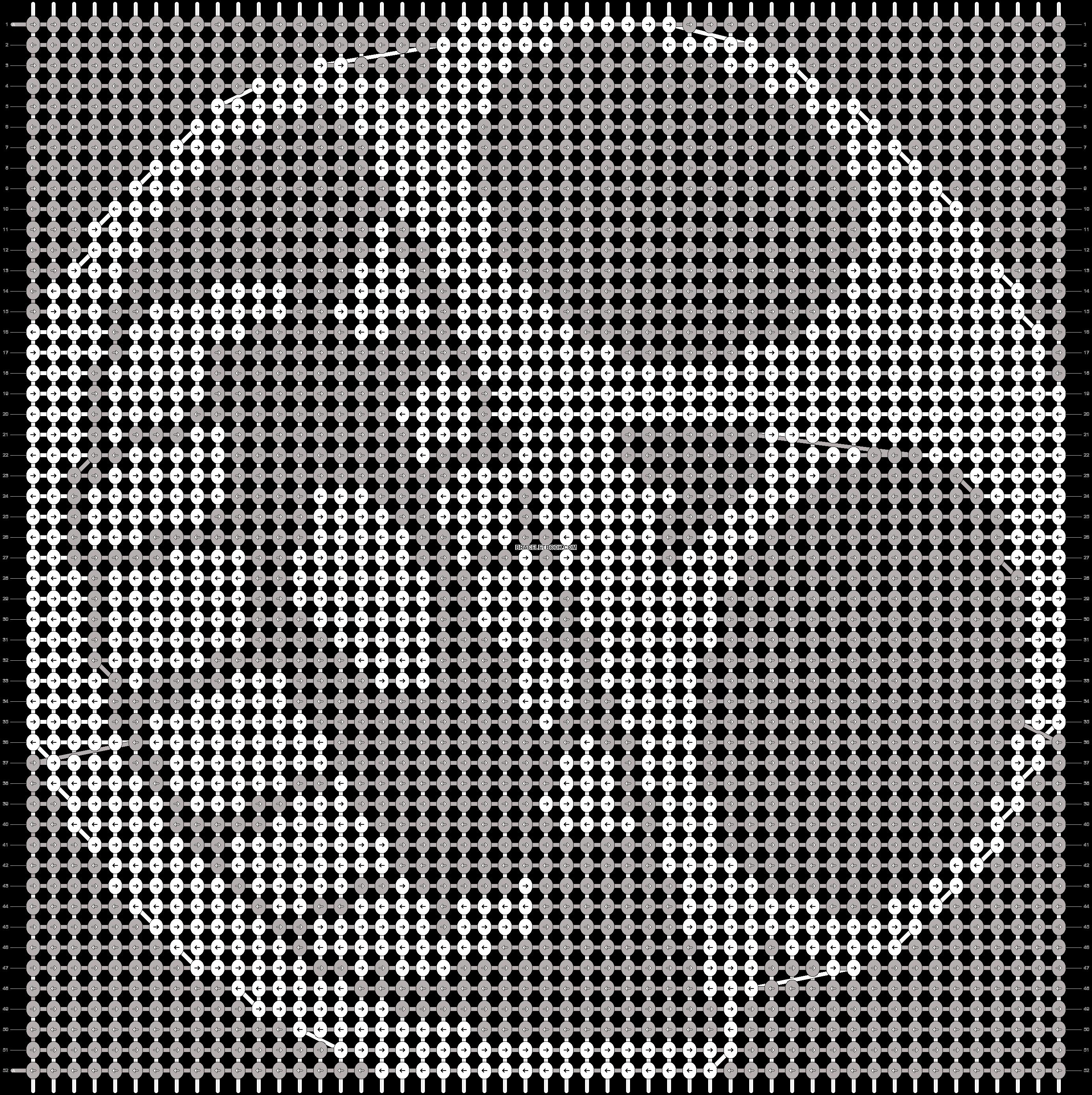 Alpha pattern #18768 pattern