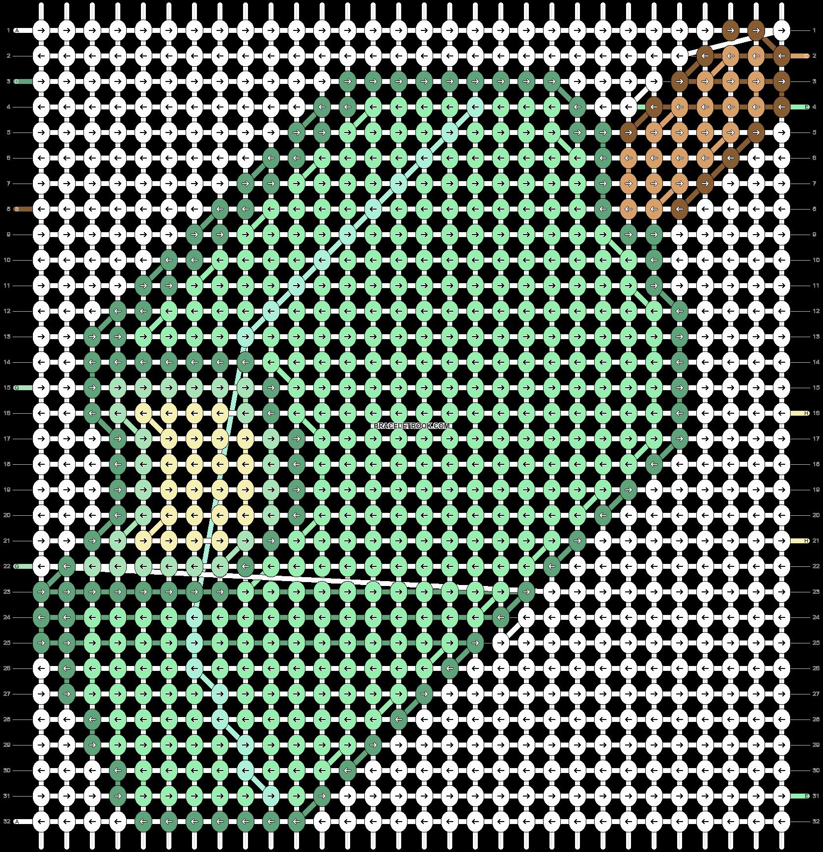 Alpha pattern #18771 pattern