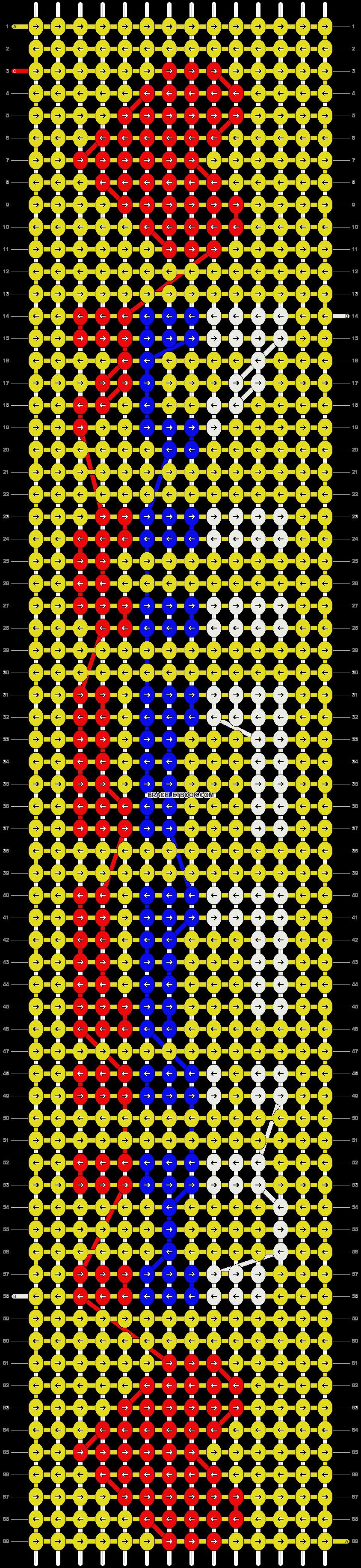 Alpha pattern #18774 pattern