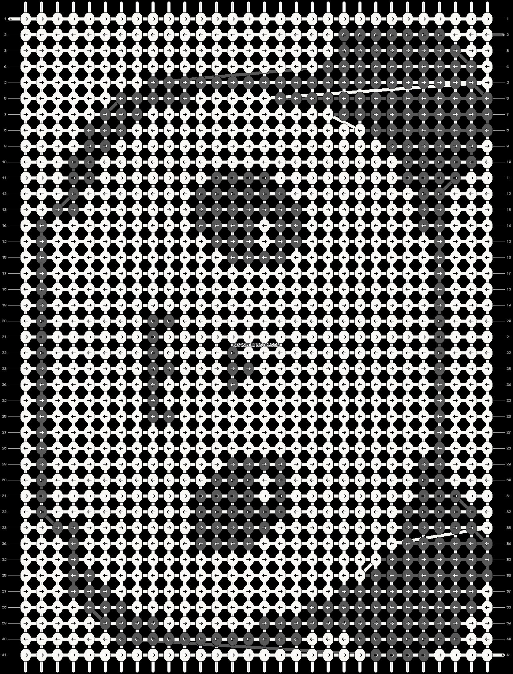 Alpha pattern #18777 pattern