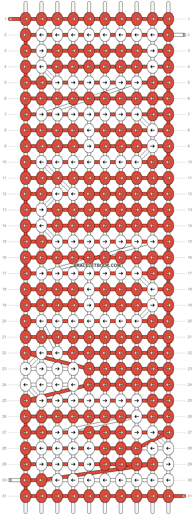 Alpha pattern #18779 pattern