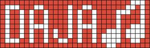 Alpha Friendship Bracelet Pattern #18779