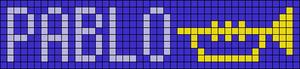 Alpha Friendship Bracelet Pattern #18780