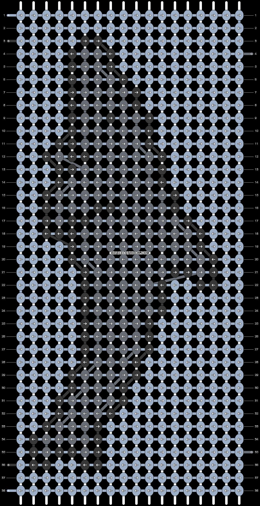 Alpha pattern #18782 pattern