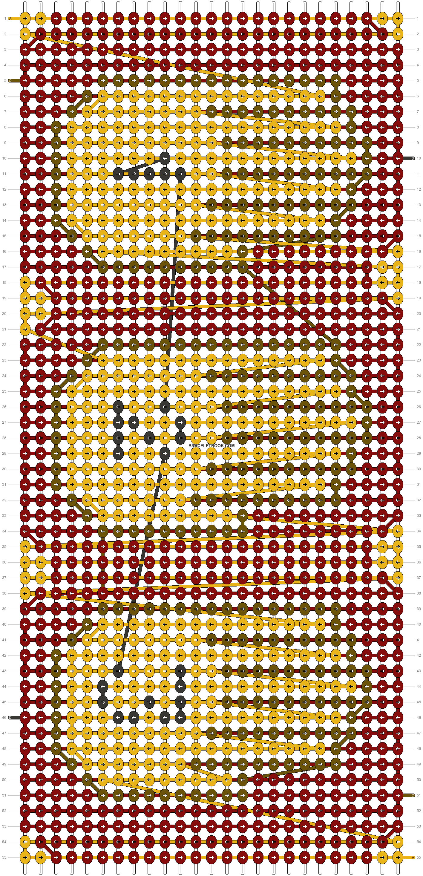Alpha pattern #18789 pattern