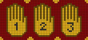 Alpha pattern #18789