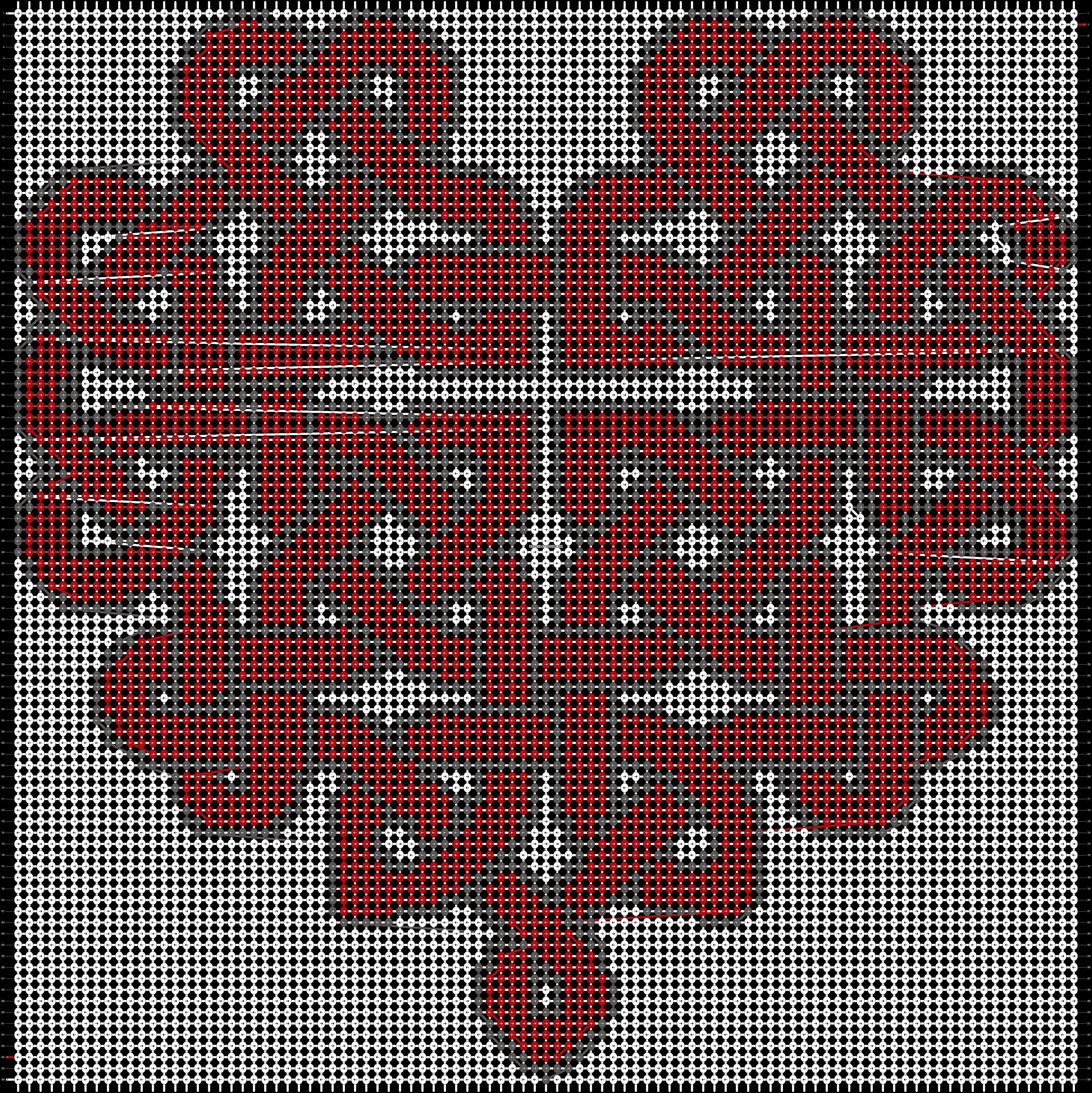 Alpha pattern #18795 pattern