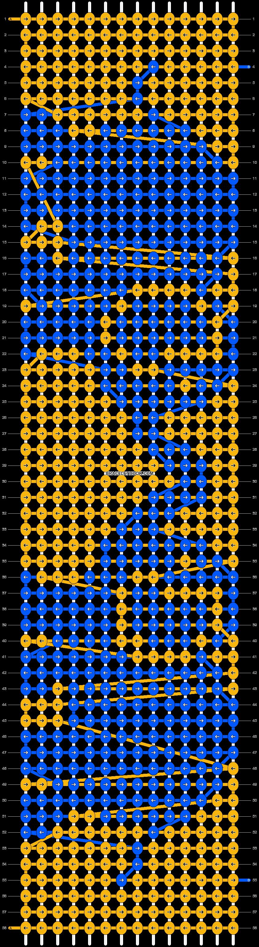 Alpha pattern #18800 pattern