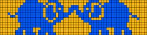 Alpha Friendship Bracelet Pattern #18800
