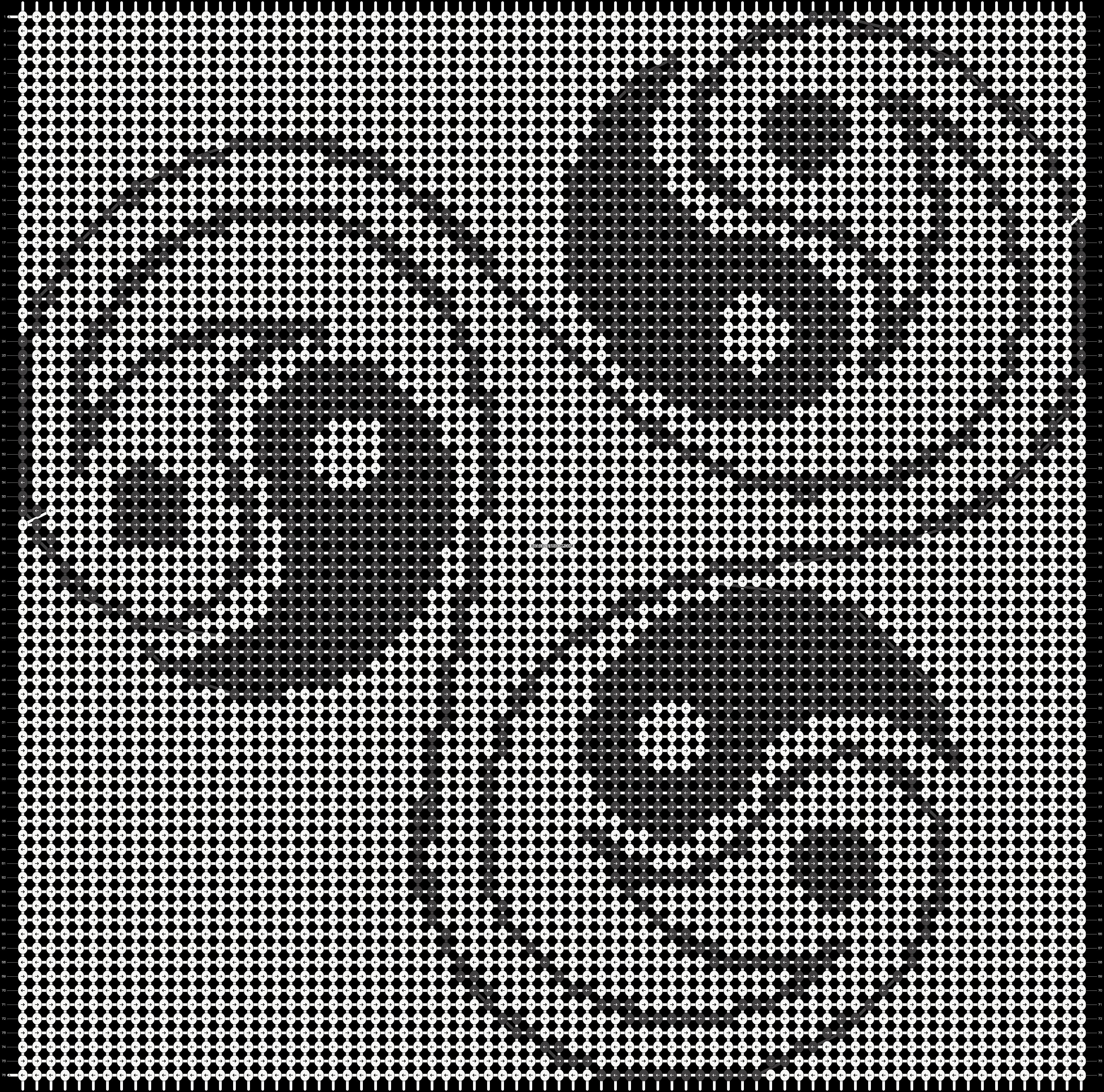 Alpha pattern #18821 pattern